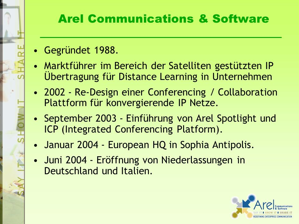 Arel Communications & Software