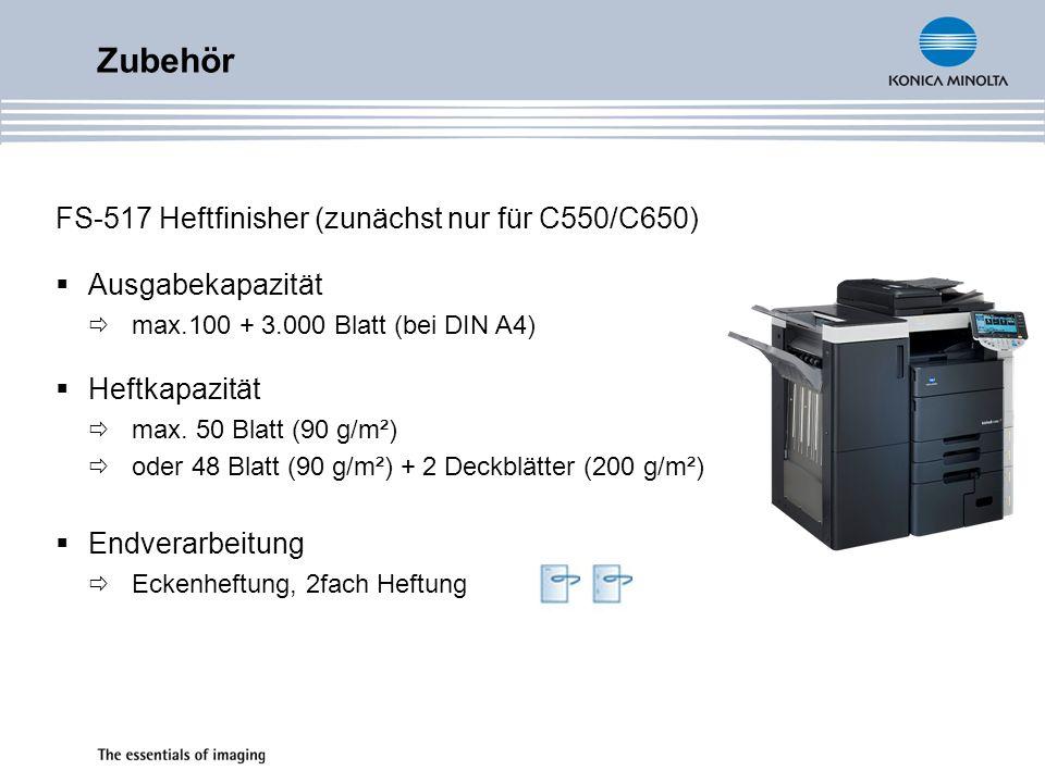 Zubehör FS-517 Heftfinisher (zunächst nur für C550/C650)