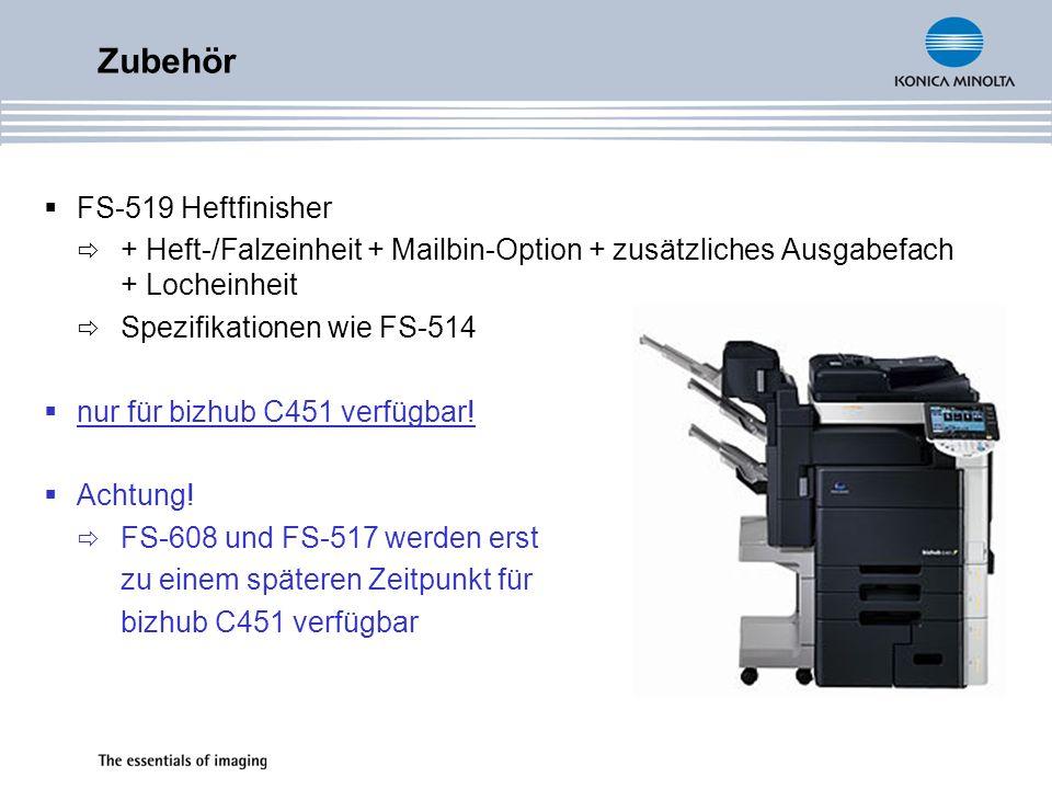 Zubehör FS-519 Heftfinisher
