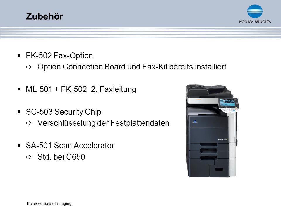 Zubehör FK-502 Fax-Option
