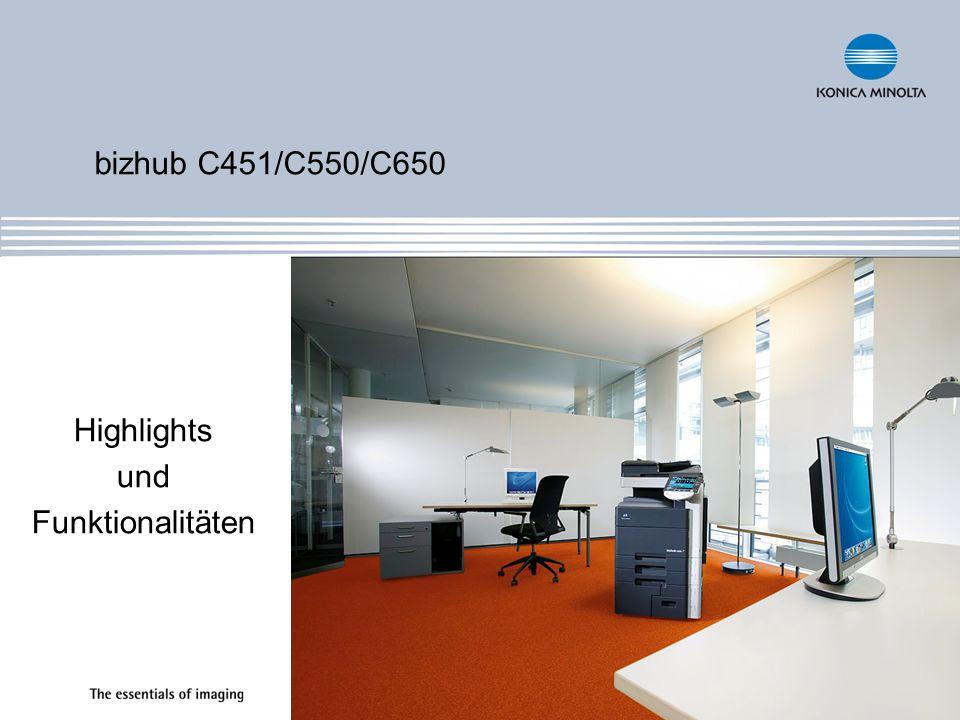 Highlights und Funktionalitäten
