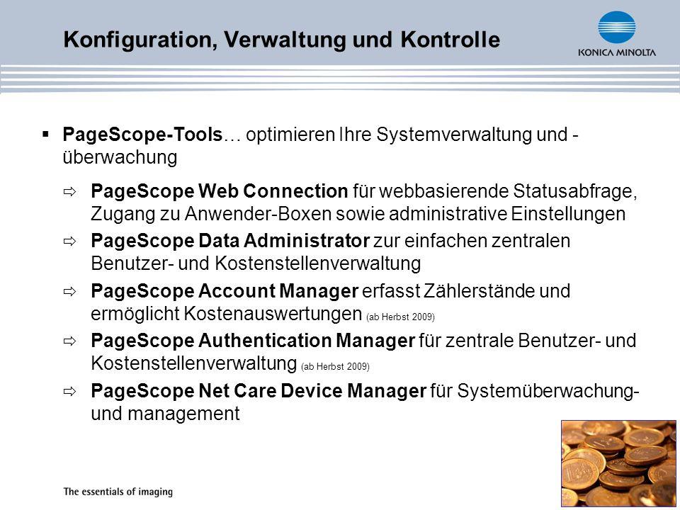 Konfiguration, Verwaltung und Kontrolle