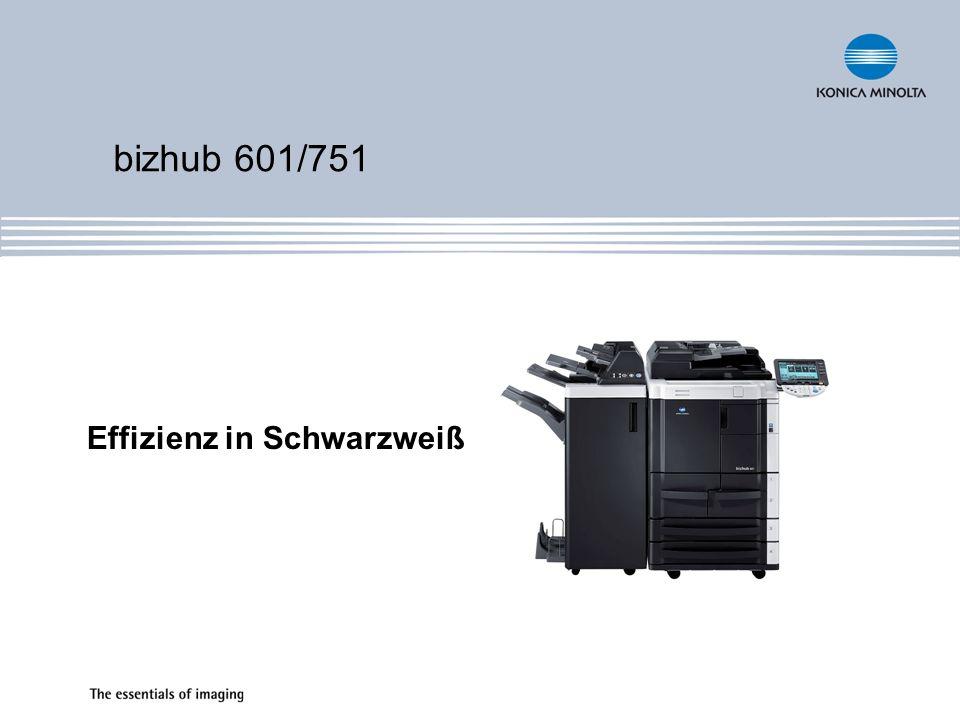Effizienz in Schwarzweiß