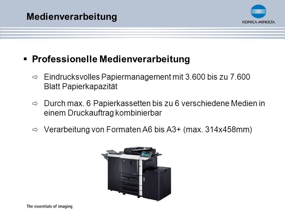 Professionelle Medienverarbeitung