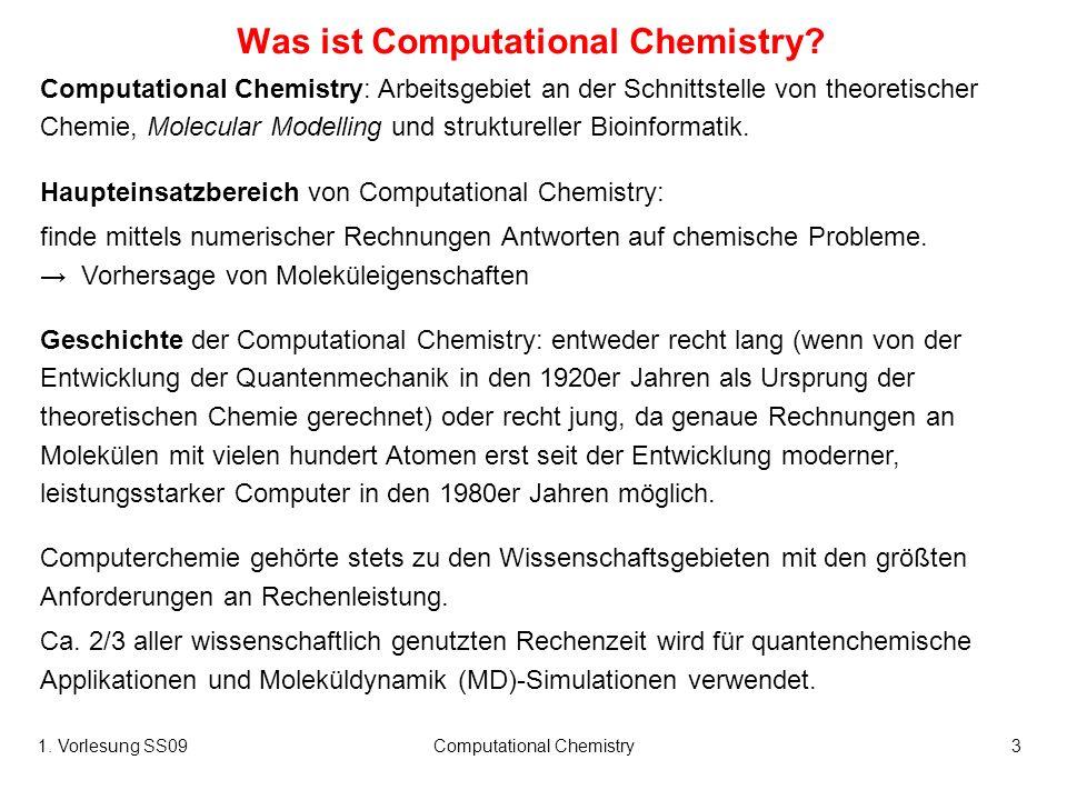 Was ist Computational Chemistry