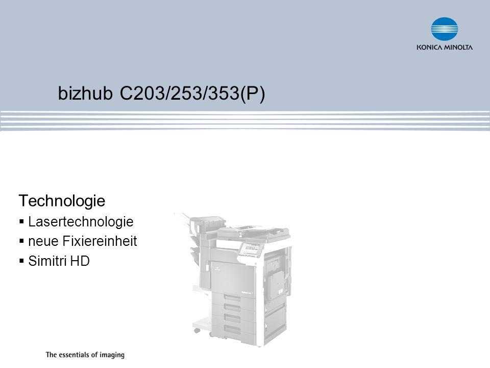 Technologie Lasertechnologie neue Fixiereinheit Simitri HD