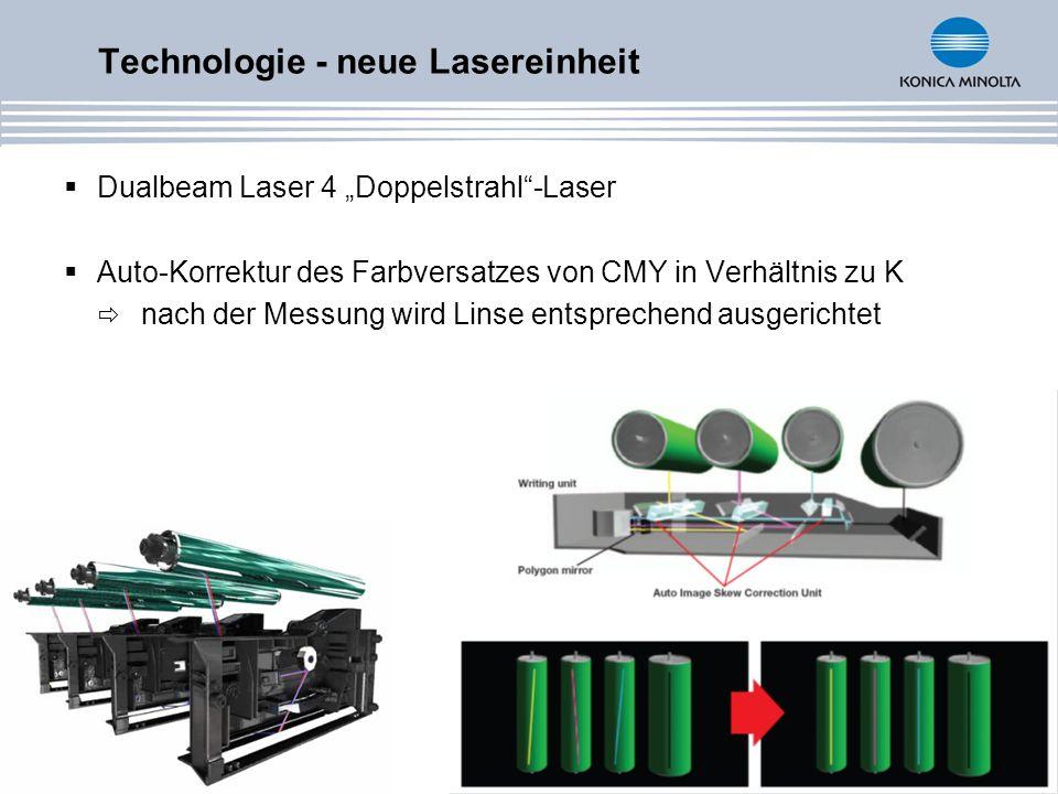 Technologie - neue Lasereinheit