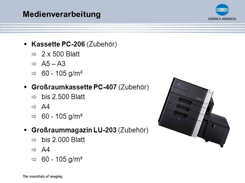 Medienverarbeitung Kassette PC-206 (Zubehör) 2 x 500 Blatt A5 – A3