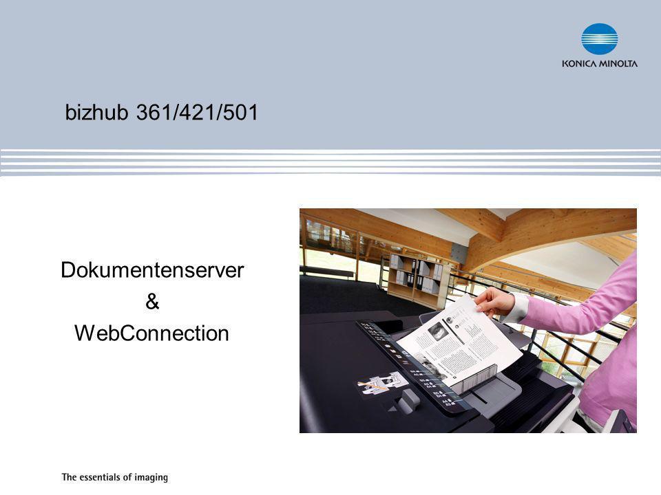 Dokumentenserver & WebConnection