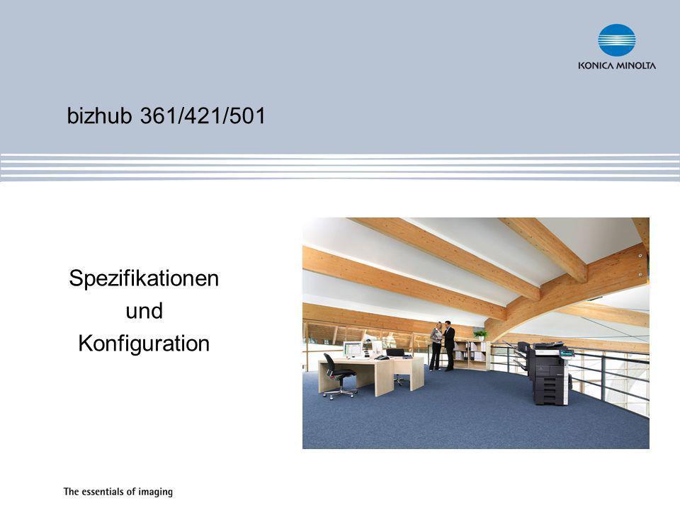 Spezifikationen und Konfiguration