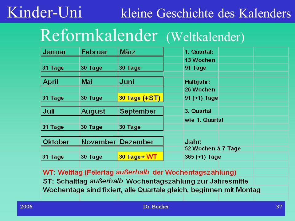 Reformkalender (Weltkalender)