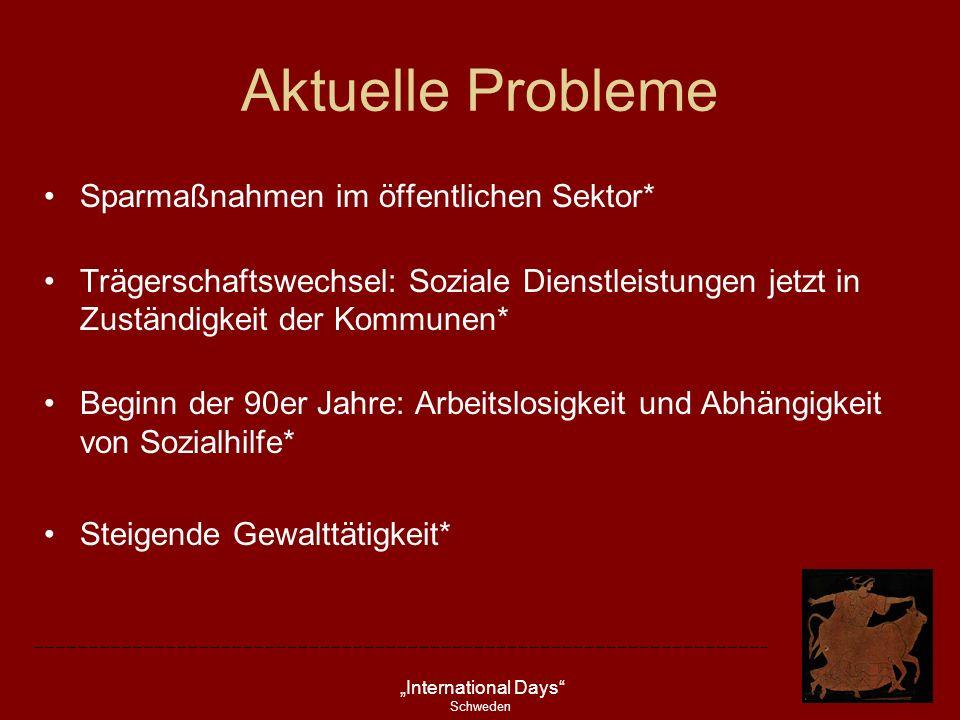 Aktuelle Probleme Sparmaßnahmen im öffentlichen Sektor*