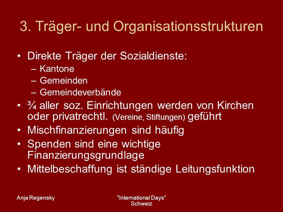 3. Träger- und Organisationsstrukturen