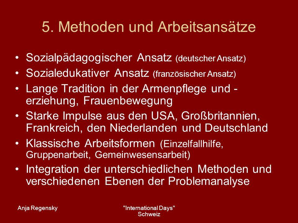 5. Methoden und Arbeitsansätze