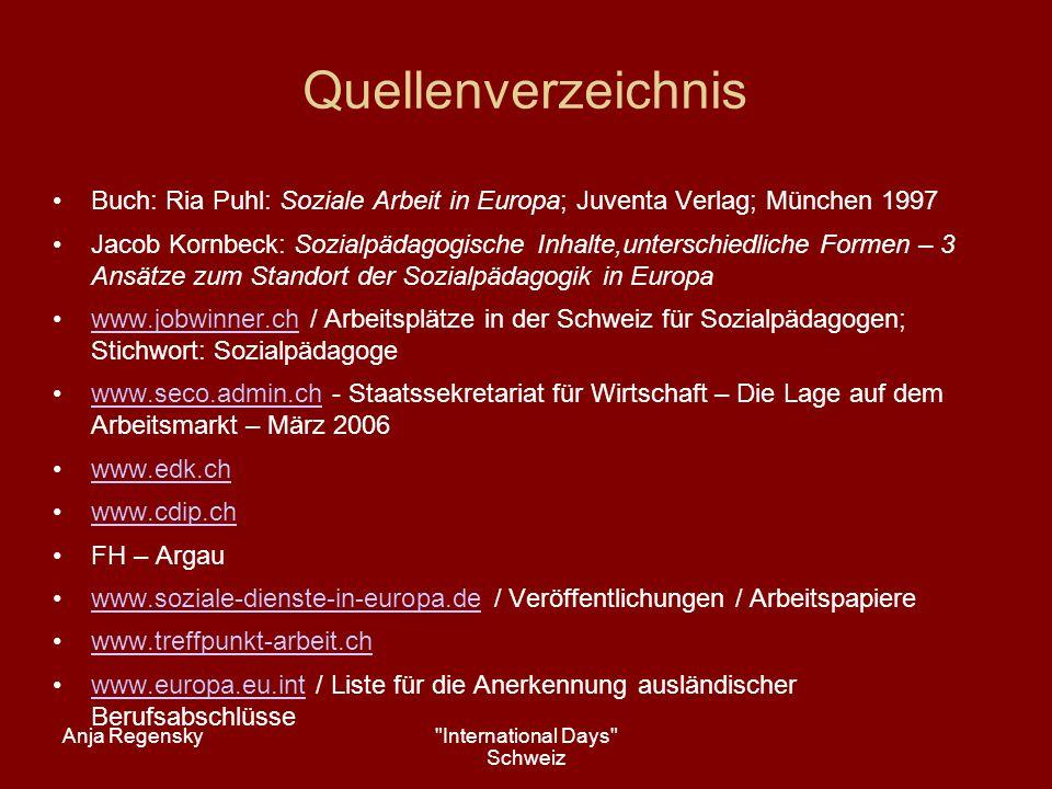 International Days Schweiz