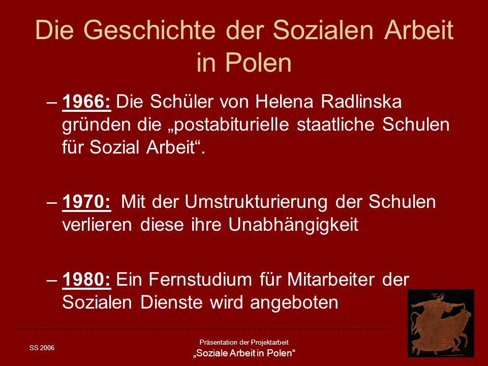 Die Geschichte der Sozialen Arbeit in Polen