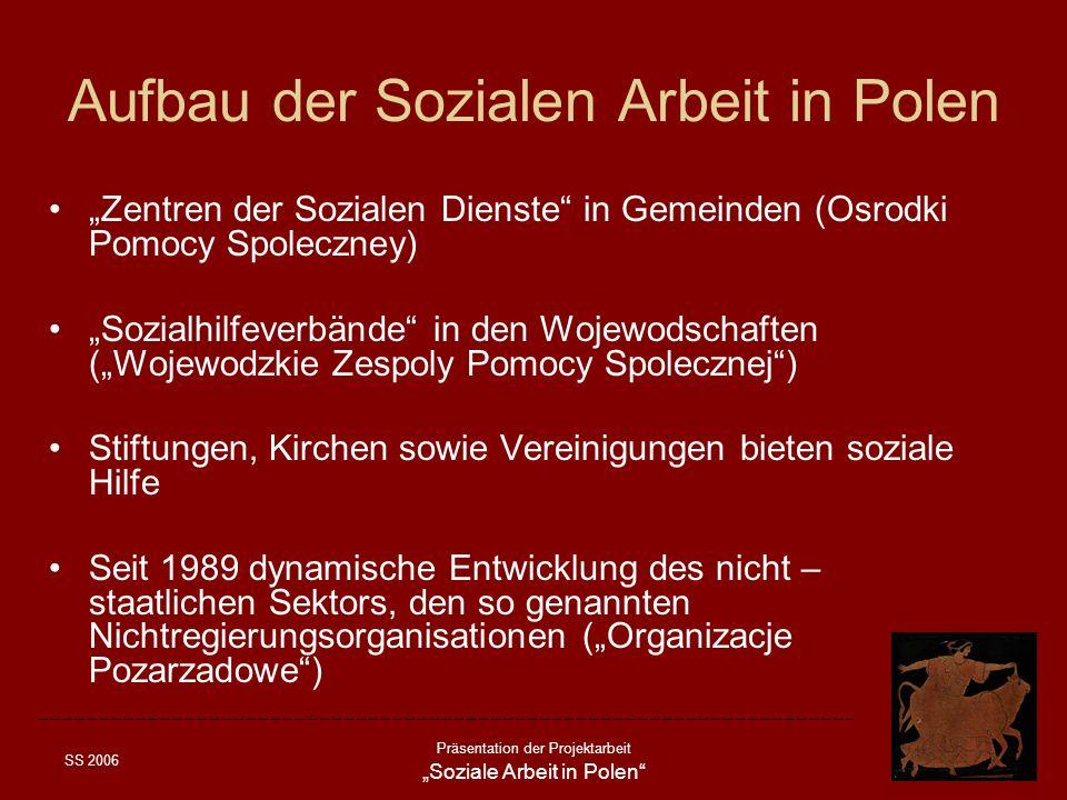 Aufbau der Sozialen Arbeit in Polen