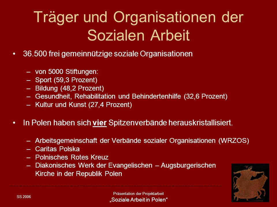 Träger und Organisationen der Sozialen Arbeit