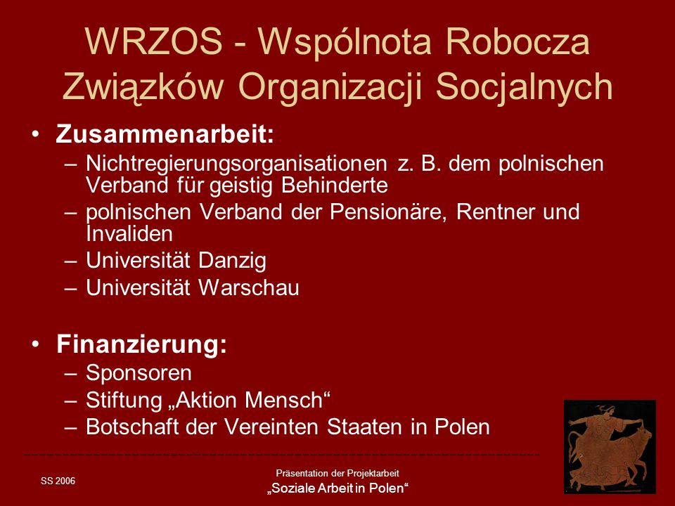 WRZOS - Wspólnota Robocza Związków Organizacji Socjalnych