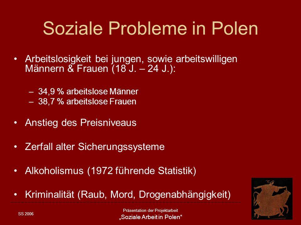Soziale Probleme in Polen