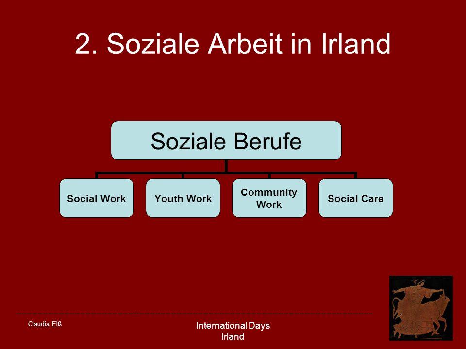 2. Soziale Arbeit in Irland