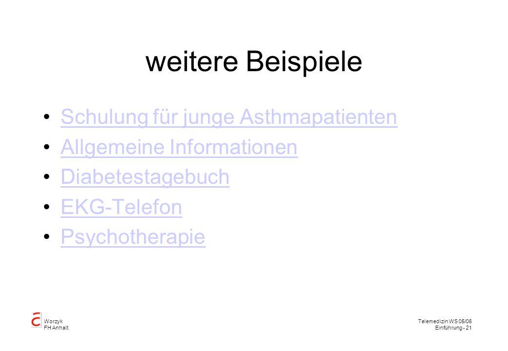 weitere Beispiele Schulung für junge Asthmapatienten