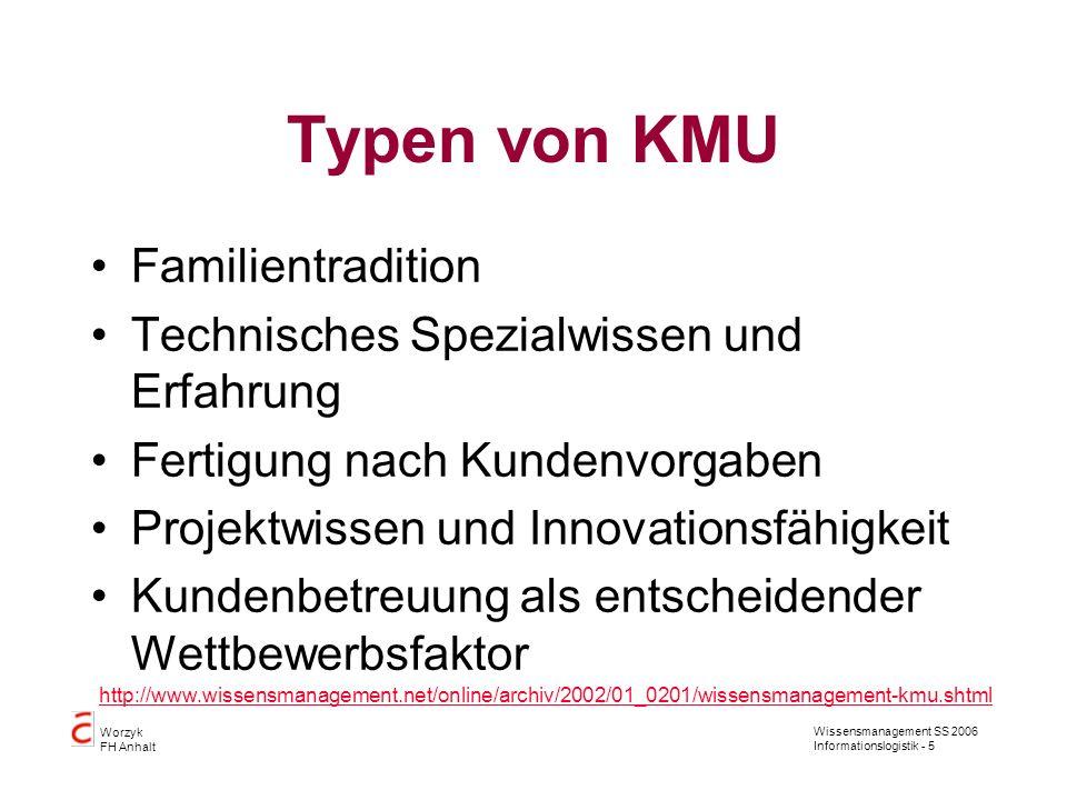 Typen von KMU Familientradition