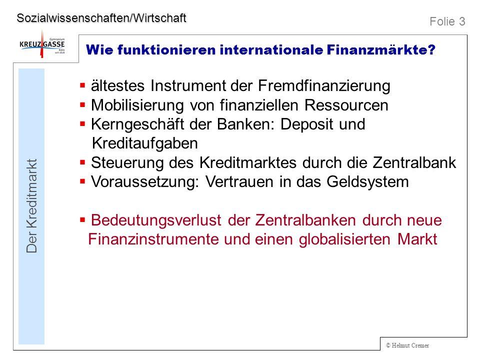 ältestes Instrument der Fremdfinanzierung