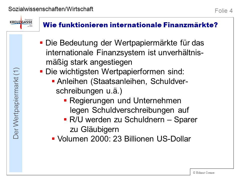 Der Wertpapiermarkt (1)