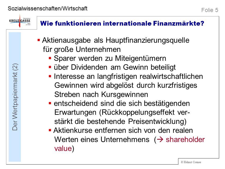 Der Wertpapiermarkt (2)