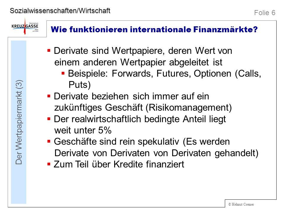 Der Wertpapiermarkt (3)