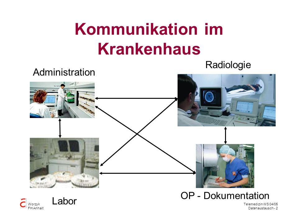 Kommunikation im Krankenhaus