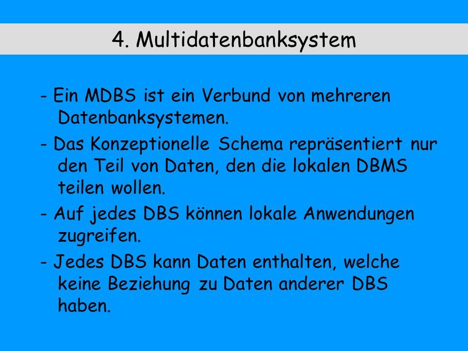 4. Multidatenbanksystem