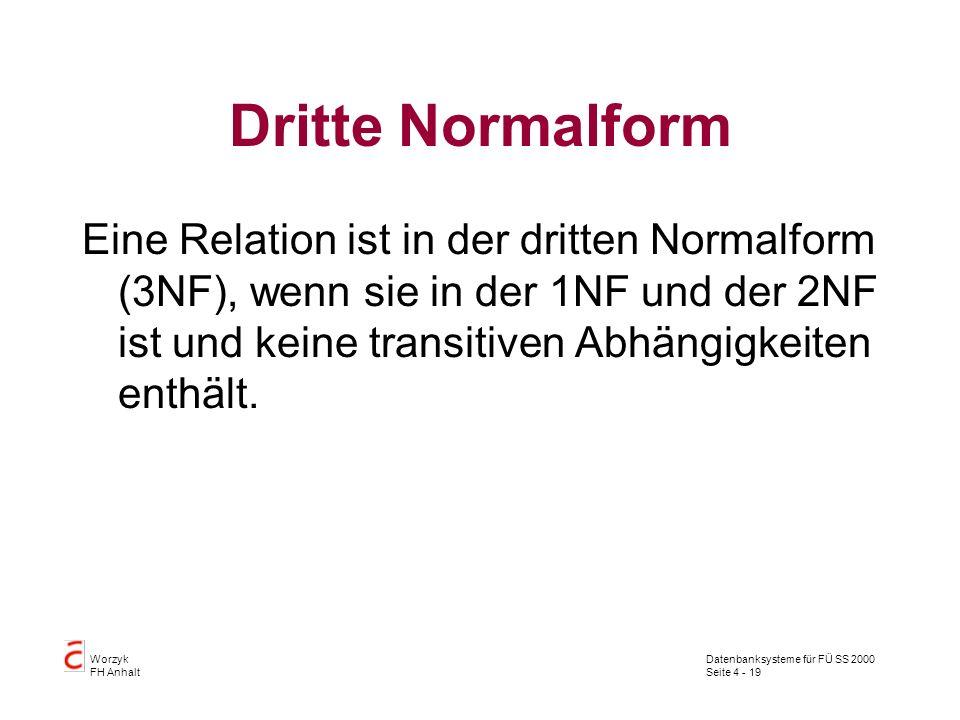 Dritte Normalform