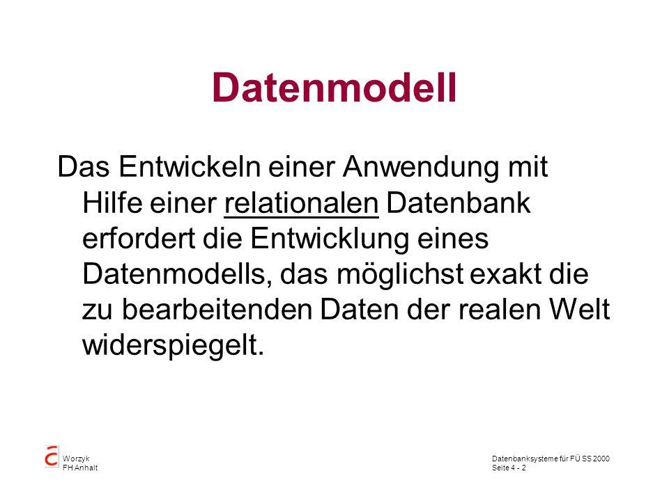 Datenmodell