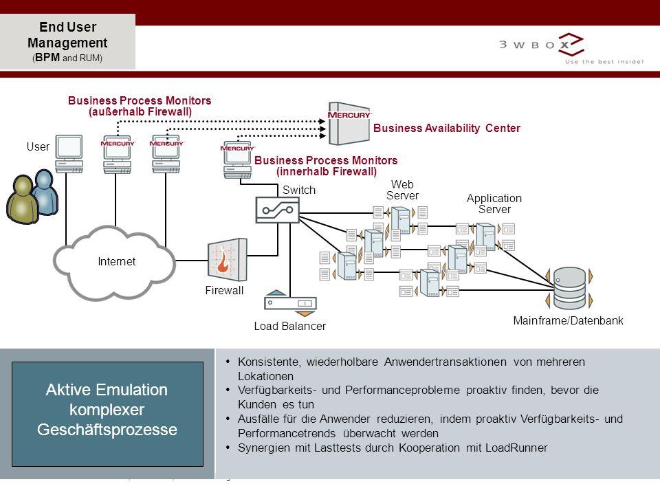 Aktive Emulation komplexer Geschäftsprozesse