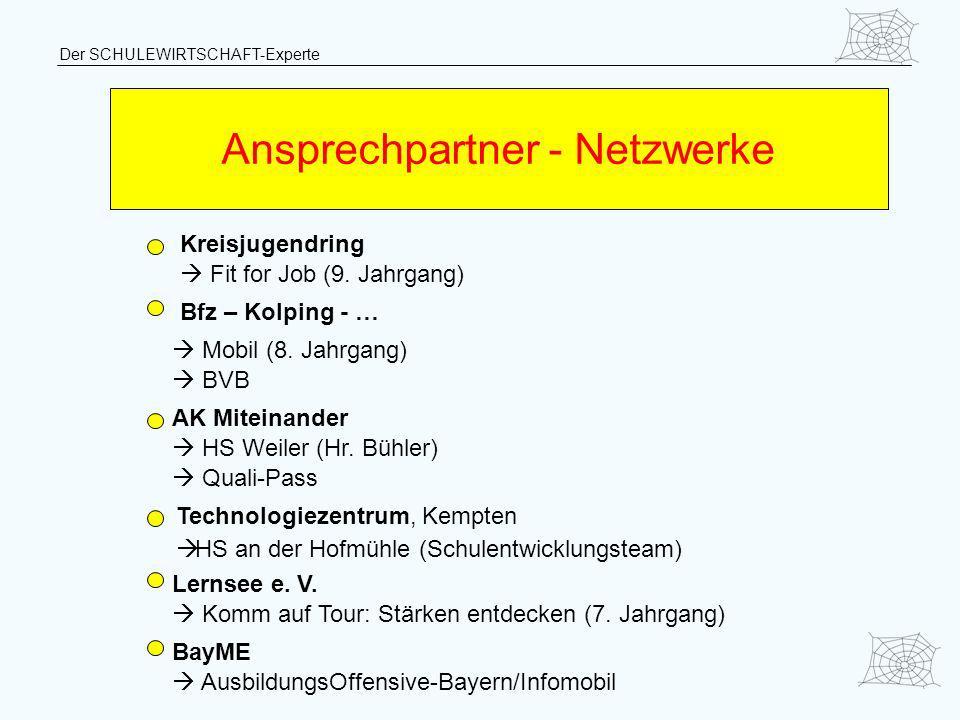 Ansprechpartner - Netzwerke