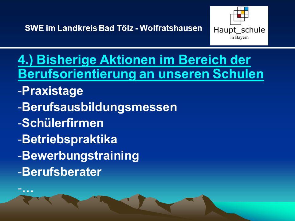 SWE im Landkreis Bad Tölz - Wolfratshausen