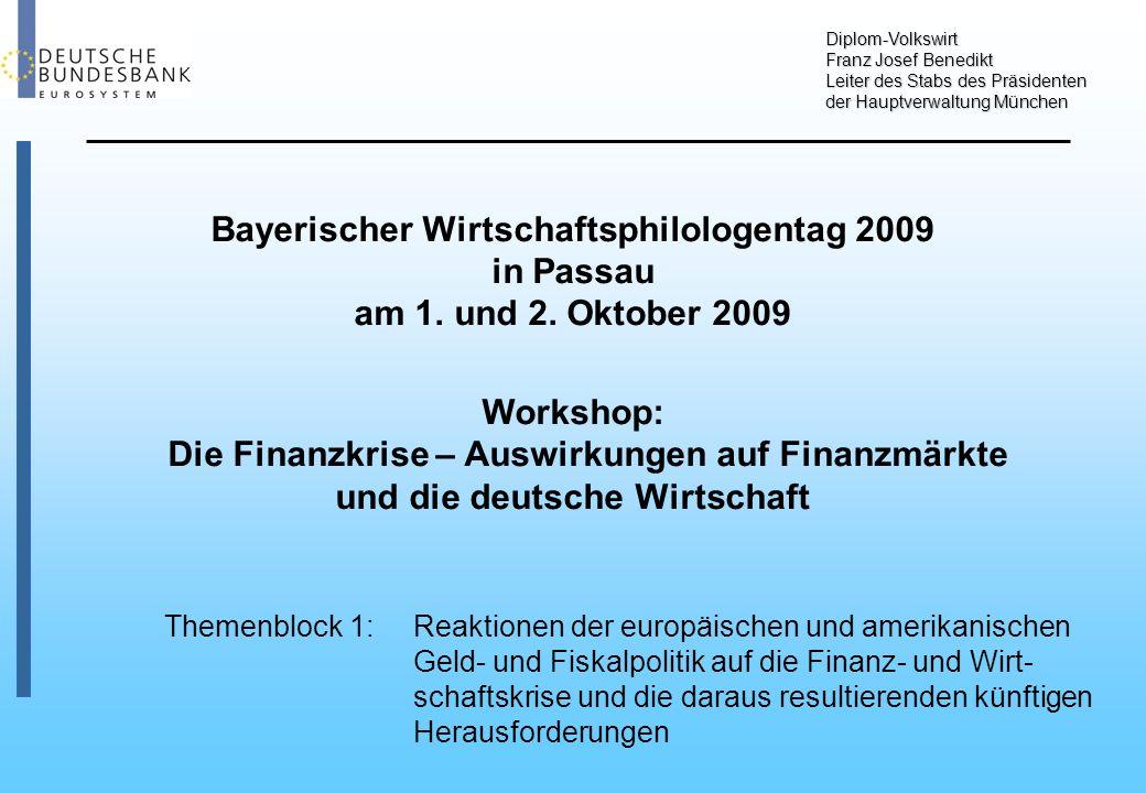 Bayerischer Wirtschaftsphilologentag 2009 in Passau