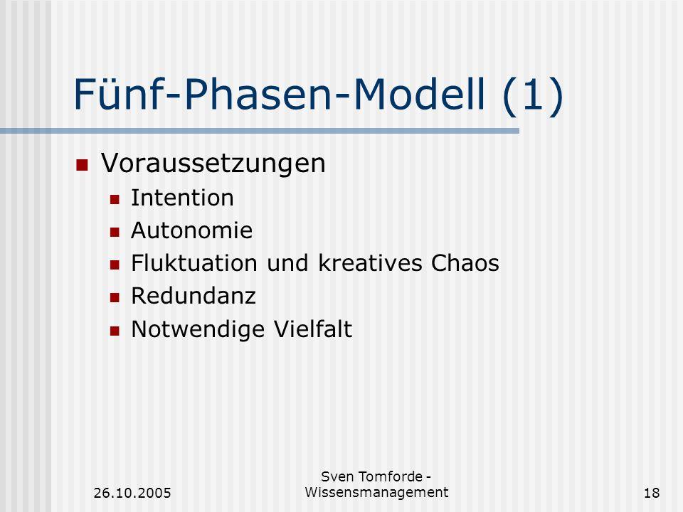 Fünf-Phasen-Modell (1)
