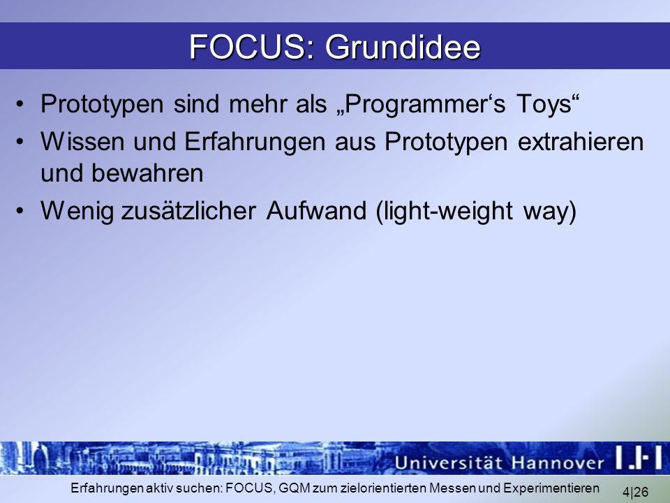 "FOCUS: Grundidee Prototypen sind mehr als ""Programmer's Toys"