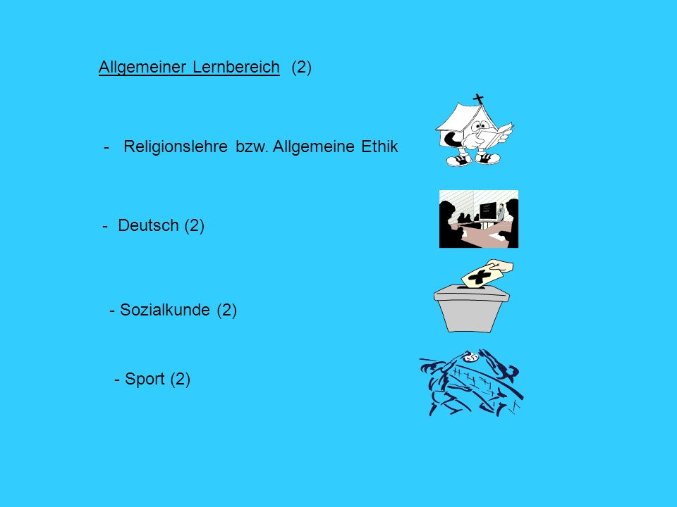 Allgemeiner Lernbereich (2)