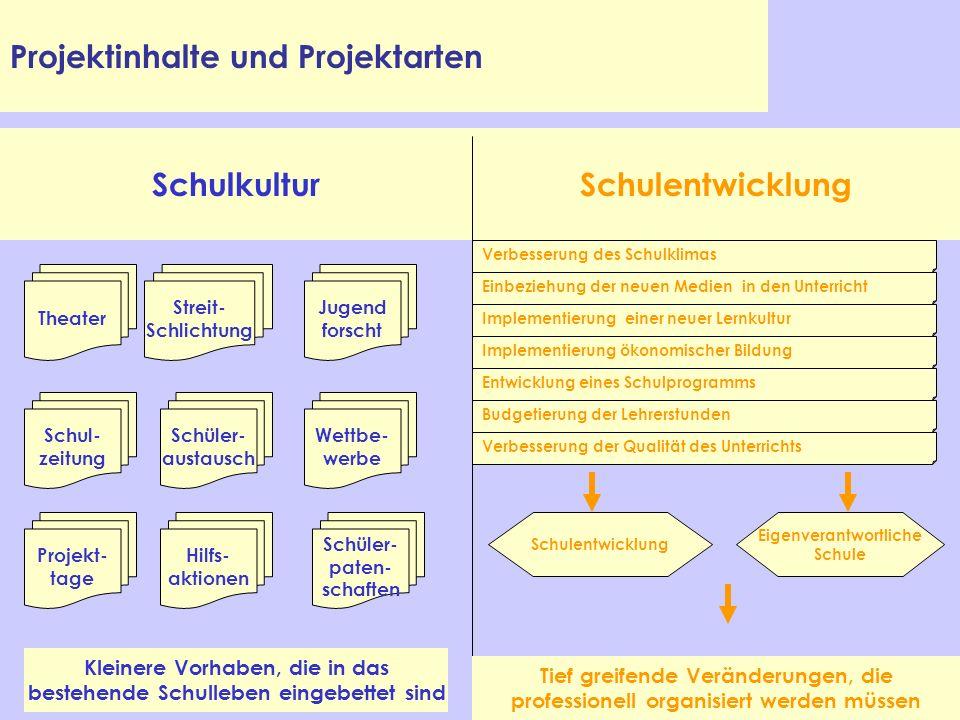Schulkultur Schulentwicklung
