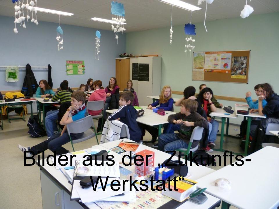 """Bilder aus der """"Zukunfts-Werkstatt"""