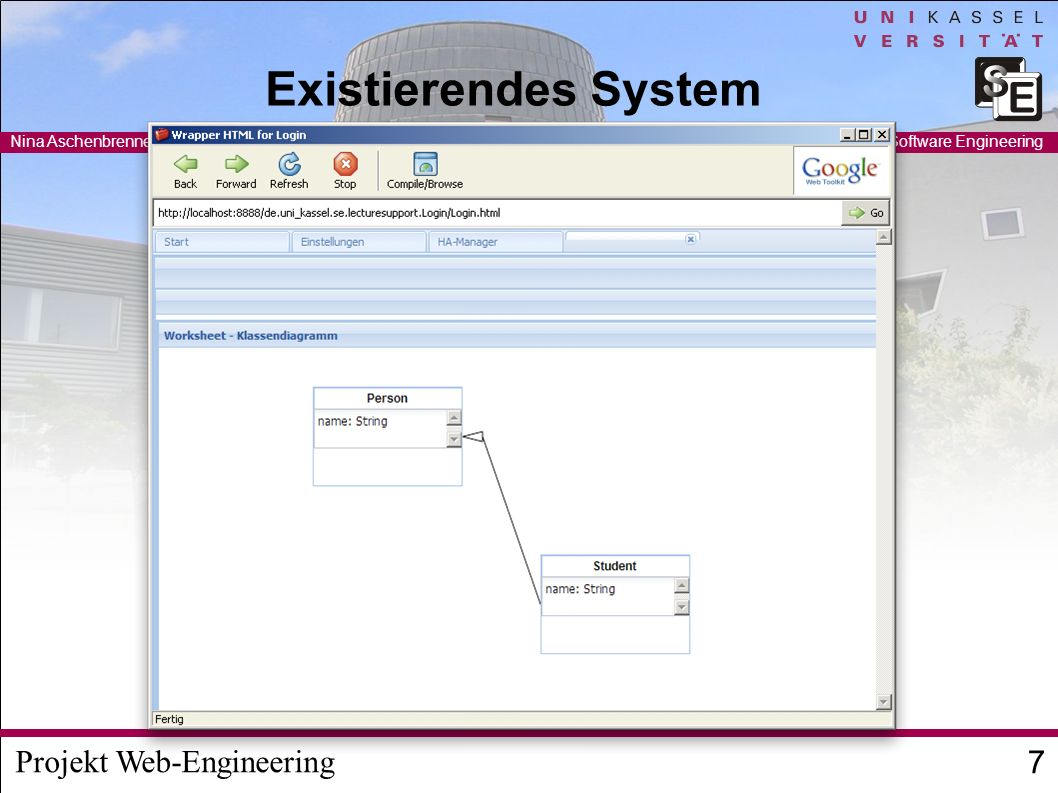Existierendes System