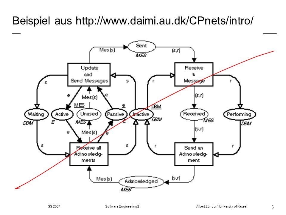 Beispiel aus http://www.daimi.au.dk/CPnets/intro/