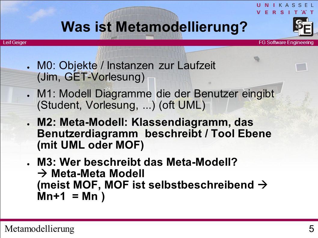 Was ist Metamodellierung