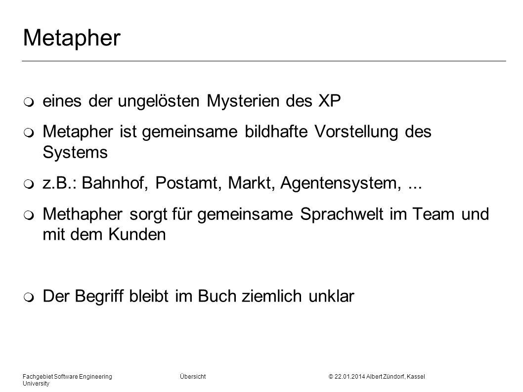 Metapher eines der ungelösten Mysterien des XP