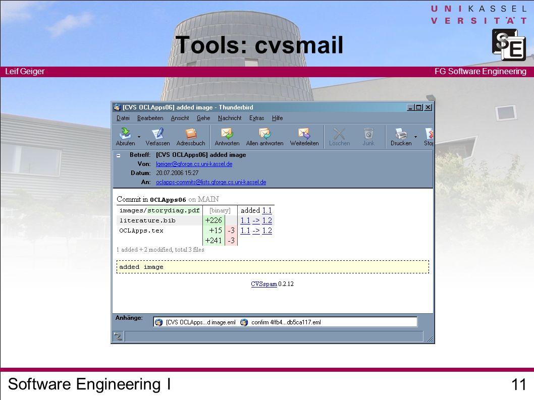 Tools: cvsmail