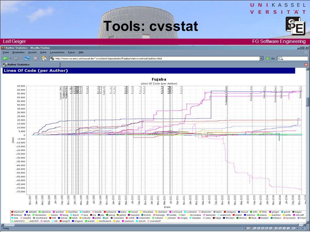Tools: cvsstat